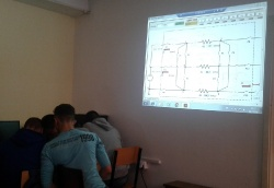 1st Exemplary class in Basics of Electrical Engineering - Cacak