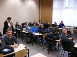 Exemplary Class - Fundamentals of automatic control, Mihajlo Pupin Novi Sad