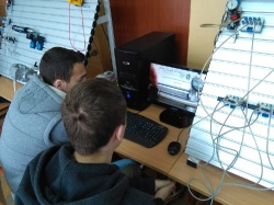Exemplary Class - Testing and Diagnostics of Mechatronic Systems - Technical School, Trstenik