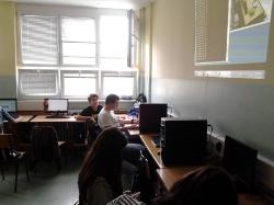 Exemplary class 2 in Technical school, Pirot