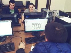 Exemplary class in Digital Electronics - Nova Varos