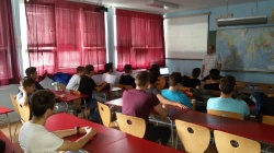 Exemplary class in Technical school, Pirot